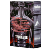 NECA The Terminator T-800 Endoskeleton box package back