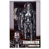 NECA The Terminator T-800 Endoskeleton box package front