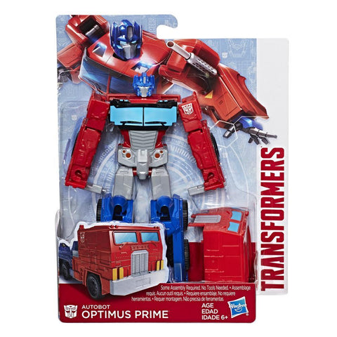 Transformers Authentics Optimus Prime Deluxe Packaging