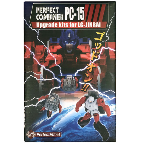 Perfect Effect Combiner PC-15 Upgrade Kit Ginrai Powermaster Optimus Prime box package front third party