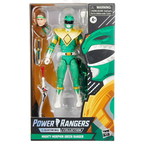 Power Rangers Lightning Collection Spectrum Series Mighty Morphin Evil Green Ranger box package front