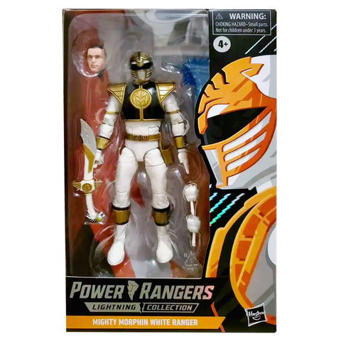 Power Rangers Lightning Collection Spectrum Series Mighty Morphin White Ranger target exclusive box package front