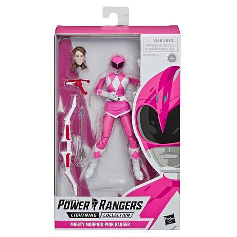 Habro Lightning Collection Power Rangers Might Morphin Pink Ranger MMPR Box Package