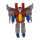 Prexio Transformers G1 Generation 1 Starscream Mini Figurine Toy