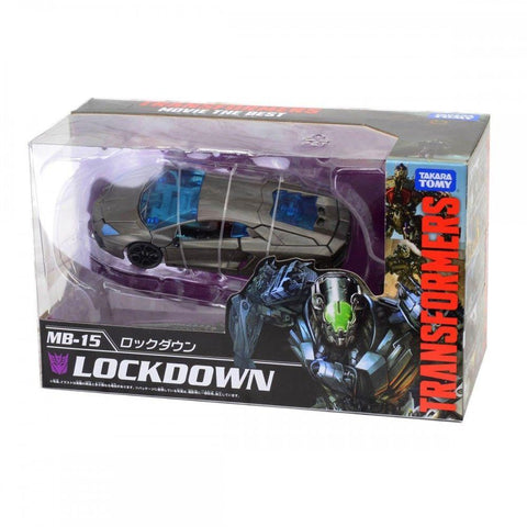 Transformers Movie The Best MB-15 Lockdown - Deluxe