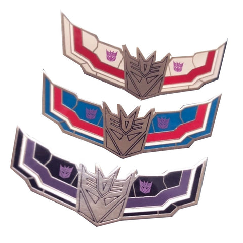 Transformers Seeker Enamel pins by Fiveboos