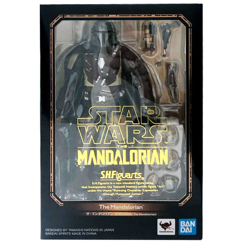 SH Figuarts Star Wars The Mandalorian toy box package front japan