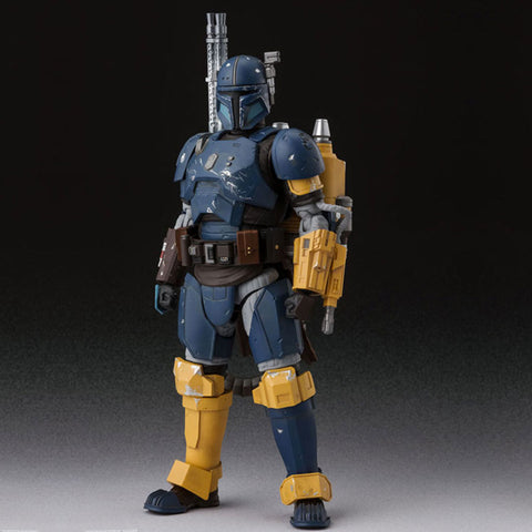 Bandai S.H. Figuarts Heavily Armored Mandalorian Japan Action Figure Toy Front