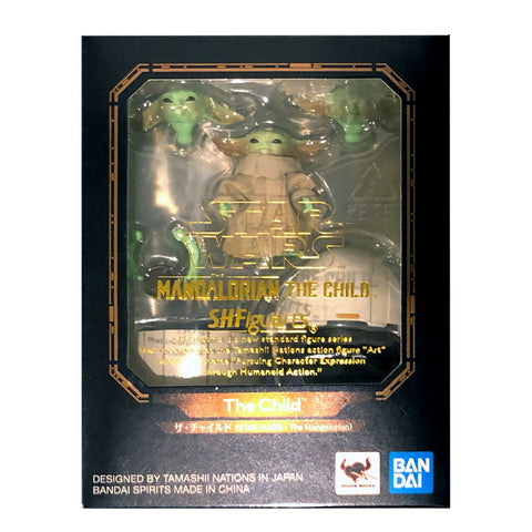 Bandai S.H. Figuarts Star Wars Mandalorian The Child Baby Yoda box package front