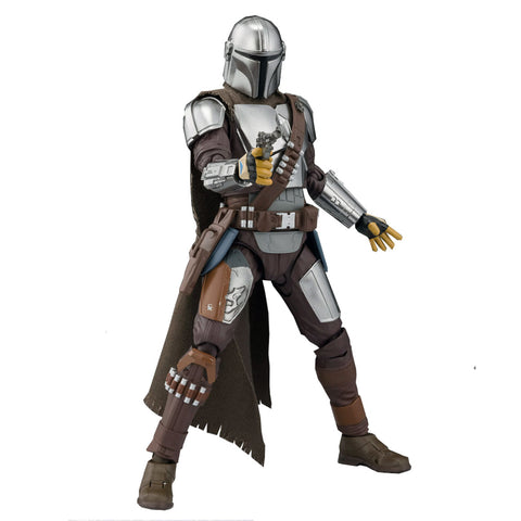 Bandai S.H. Figuarts The Mandalorian Beskar Armor Action Figure Toy Japan