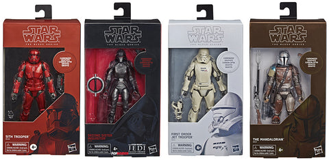 Star Wars The Black Series Carbonized Collection 2019 Full set of 4 MISB
