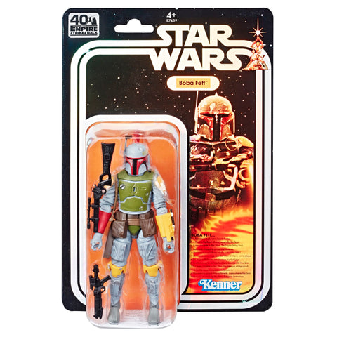 SDCC 2019 Star Wars Vintage Boba Fett Black Series MOSC