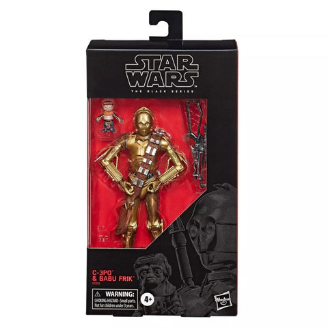 Star Wars Black Series 6-inch C-3PO & Babu Frik Target Exclusive Box Package