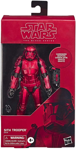 Star Wars The Black Series Carbonized Collection Sith Trooper Box Package