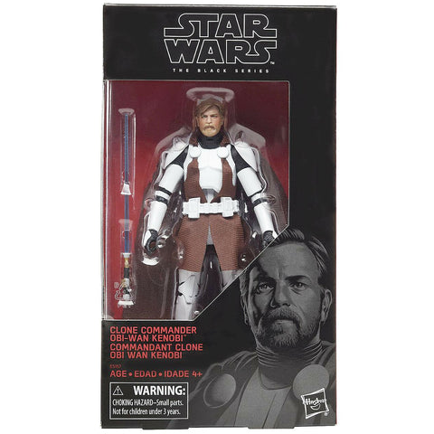 Star Wars The Black Series Clone Commander Obi-Wan Kenobi Box Package