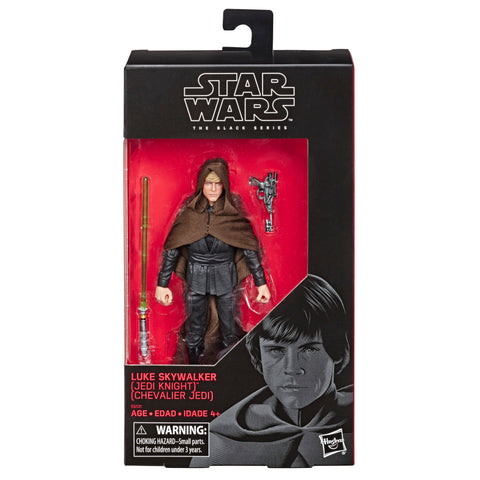 Star Wars The Black Series 6-inch Luke Skywalker (Jedi Knight) ROTJ Walmart Exclusive Box Package