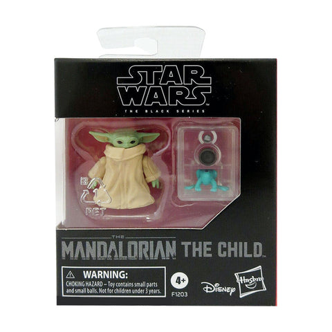 Star Wars The Black Series Mandalorian Child Baby Yoda Toy Box Package Front