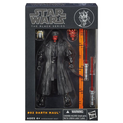 Hasbro Star Wars The Black Series 2013 02 Darth Maul Box Package Front