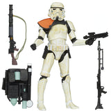 Hasbro Star Wars The Black Series 2013 03 Sandtrooper Orange Pauldron Action Figure Toy Accessories