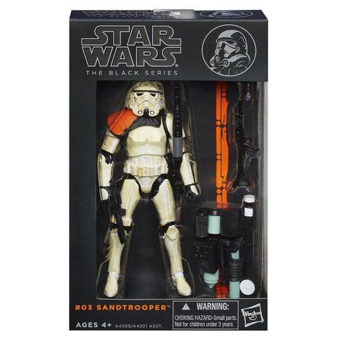 Hasbro Star Wars The Black Series 2013 03 Sandtrooper Orange Pauldron Box Package Front