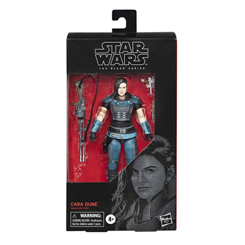 Star Wars The Black Series Hasbro 101 Cara Dune from The Mandalorian Bounty Hunter Box Package