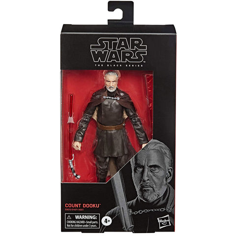 Hasbro Star Wars The Black Series 107 Count Dooku Box Package Front