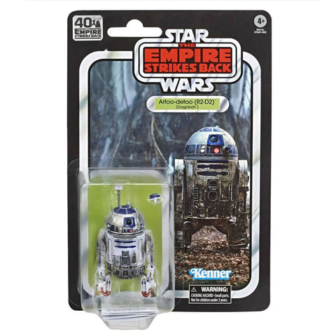 Hasbro Star Wars The Black Series 40th Anniversary Empire Strikes Back TESB Artoo-Detoo R2-D2 Dagobah Box Package Front