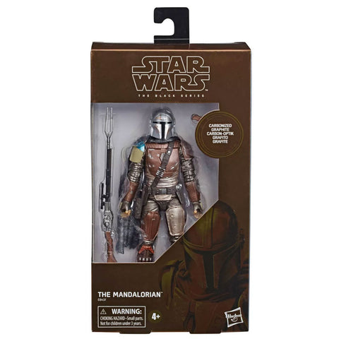 Star Wars The Black Series Carbonized The Mandalorian Box Package Target Exclusive