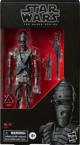 Hasbro Star Wars The Black Series 6-inch IG-11 Bounty Hunter Droid Box Package