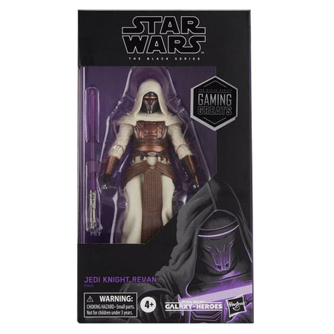 STar Wars The Black Series Jedi Knight Revan Box Package Front Gamestop Exclusive
