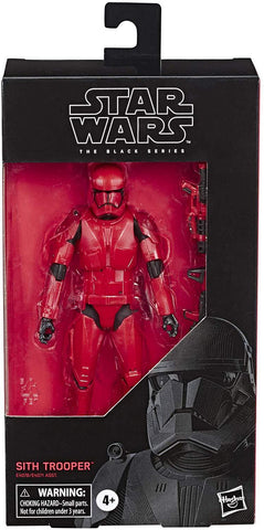 Hasbro Star Wars The Black Series 6-inch Sith Trooper Box Package