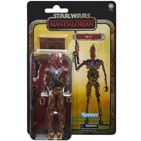 Hasbro Star Wars The Mandalorian Credit Collection IG-11 Droid Gamestop exclusive box package front