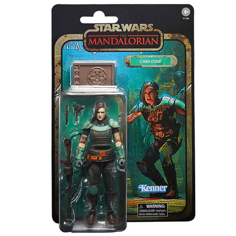 Hasbro Star Wars The Black Series Mandalorian Credit Collection Cara Dune 6-inch redeco target exclusive box package front