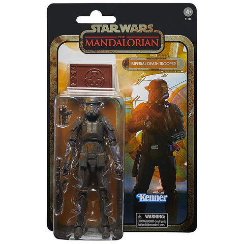 Hasbro Star Wars The Black Series Credit Collection Mandalorian Imperial Death Trooper box package front