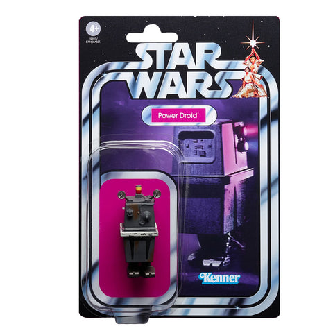 Hasbro Star Wars The Vintage Collection TVC TC-167 Power Droid box package Front
