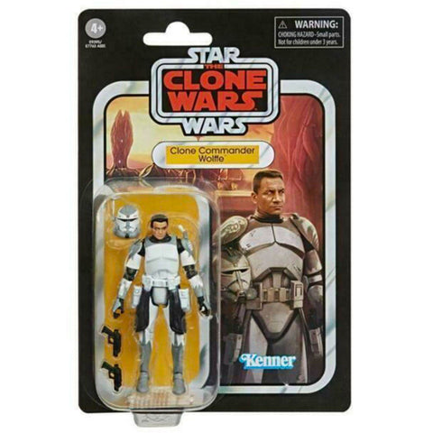 Hasbro Star Wars The Clone Wars Vintage Collection Commander Wolffe box package front