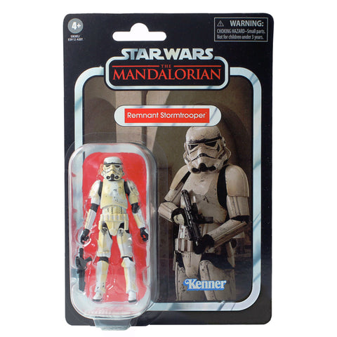 Star Wars The Vintage Collection 3.75 VC165 Remnant Stormtrooper Box Package Front The Mandalorian