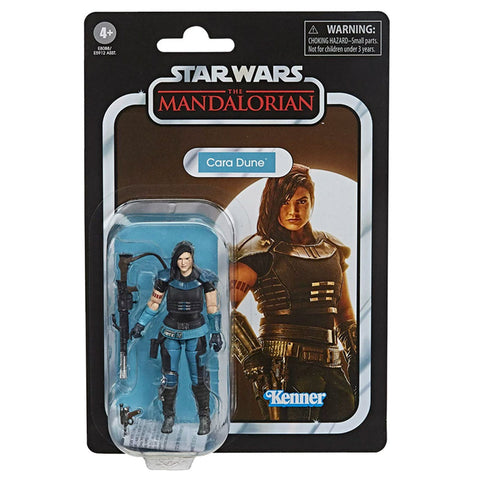 Star Wars The Vintage Collection 3.75 VC164 Cara Dune Box Package Front The Mandalorian