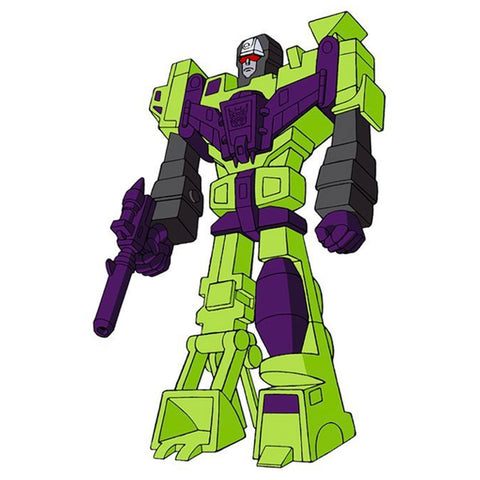 Super 7 Transformers ReAction Super Devastator Toy Stand-in art