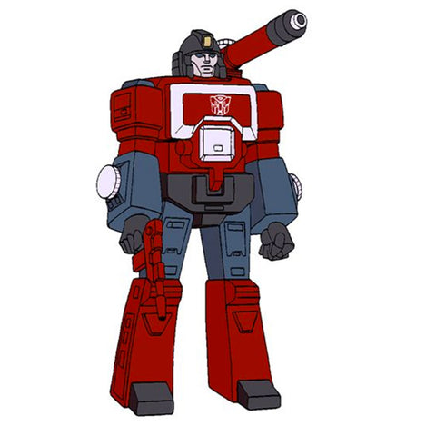 Super 7 ReAction Transformers Generation 1 Perceptor Artwork stand-in