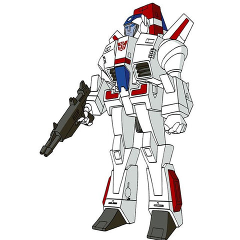Transformers Super 7 Reaction Skyfire Jetfire artwork stand-in