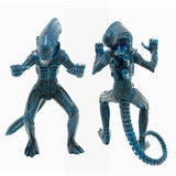 Super 7 Reaction Aliens ALien Warrior Nightfall Blue Action Figure Toy Front Back