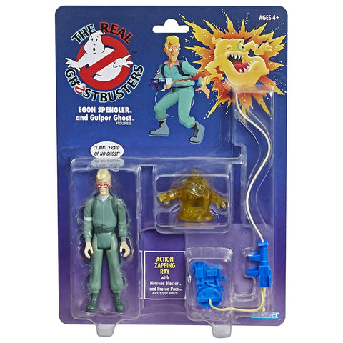 The Real Ghostbusters Egon Spengler and Gulper Ghost reissue walmart box package Front