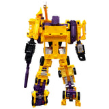 CBB downsized G2 Yellow CW Devy Combiner Robot toy back side Coolchange A Field army 3rd third party