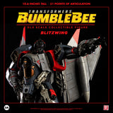 ThreeA Transformers Movie Bumblbee Decepticon Blitzwing Deluxe Sized figure promo point