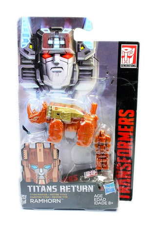 Transformers Titans Return Titan Master Ramhorn Lighter color Orange