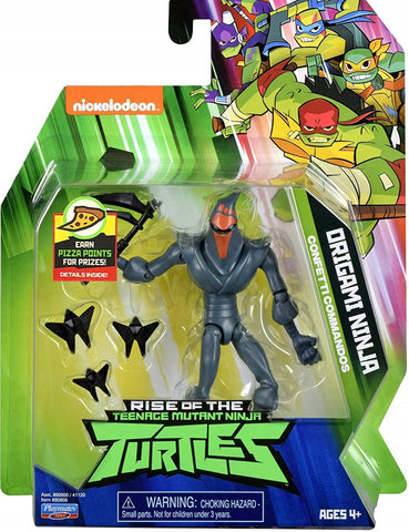 Nickelodeon Rise of the Teenage Mutant Ninja Turtles TMNT Origami Ninja Foot clan Box Package