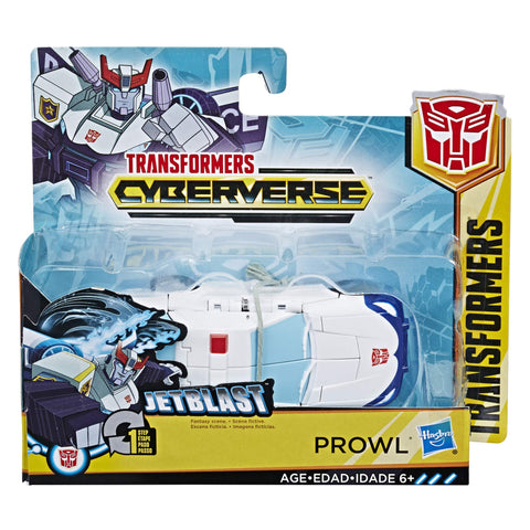 Transformers Cyberverse One Step Changer Prowl Box Package