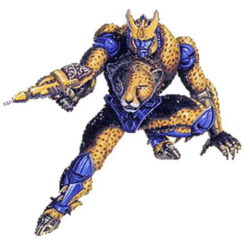 Transformers R.E.D. Series Beast Wars Cheetor - 6-inch