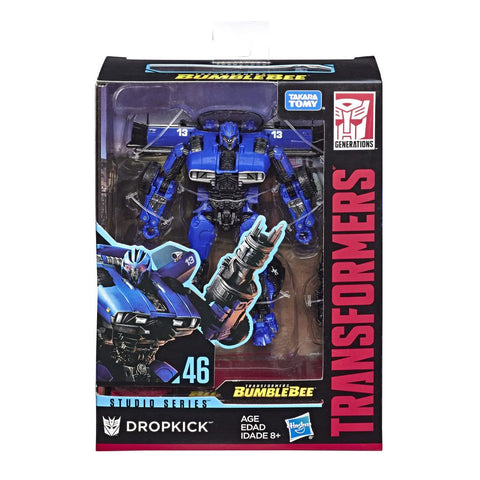 Transformers Movie Studio Series 46 Deluxe Dropkick Car Box Package